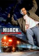 Hijack foreign DVD poster