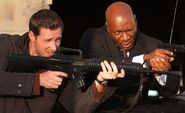DHS- Ving Rhames and Edward Burns in Echelon Conspiracy