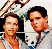 DHS- Billy D. Lucas BTS stunt double for Arnold on True Lies (1994)