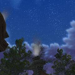 Wundervoller Himmel über Kirthaven.