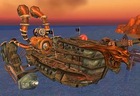 Die Wolkenbrecher - Schiff