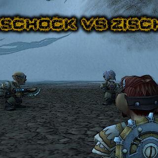 Übungskampf Troggschock vs. Zischelrad