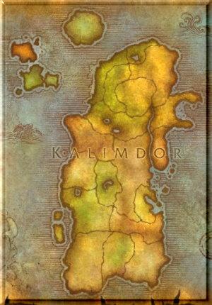 Karte Kalimdor