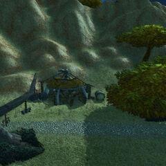 Zum ersten Mal rasteten die Schwarzkiefer zusammen in einer Hütte nahe des Südstroms.