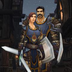 Letarrja und Jaldor vor der Schließung des Walls