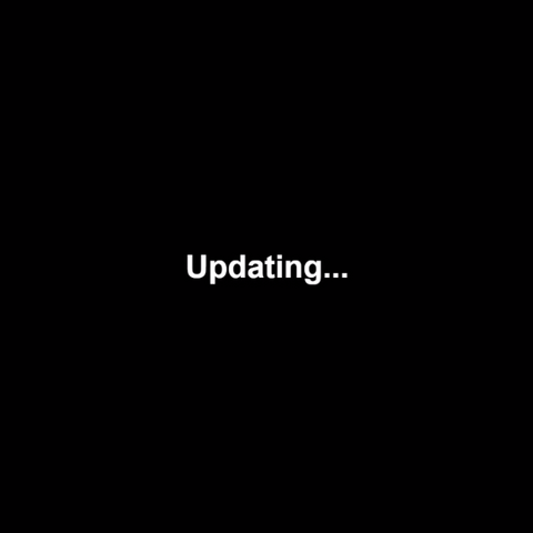 Updating screen (While the game is updating and someone plays the game).