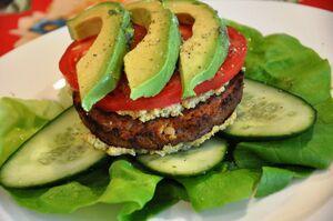 Veggie-Lettuce-Burger