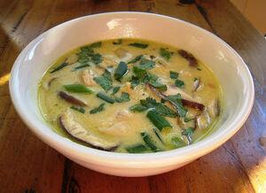 Chicken lemongrass soup