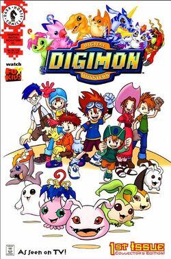 Digimon Dark Horse Comics