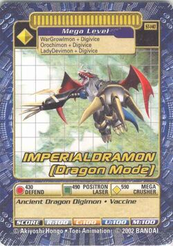 Imperialdramon (Dragon Mode) St-140 (DB)