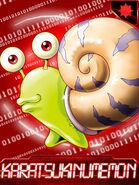 Karatsukinumemon collectors card