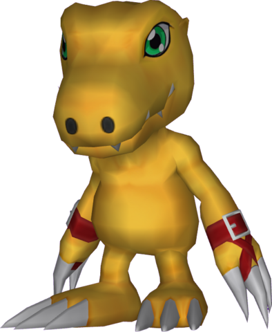 File:Agumon (2006 anime) dm.png