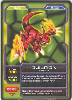 Guilmon DM-009 (DC)