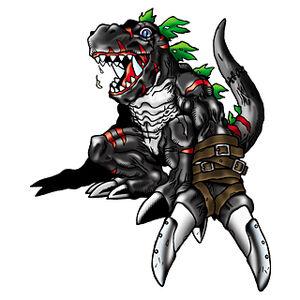 DarkTyrannomon b