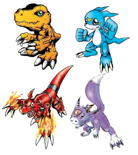 List Of Digimon With Pictures 39