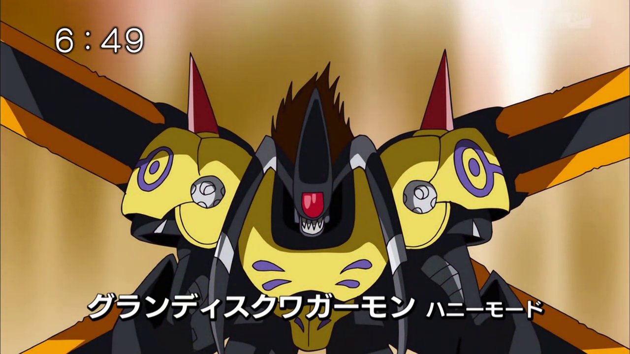 GrandisKuwagamon Honeybee Mode | DigimonWiki | FANDOM ...