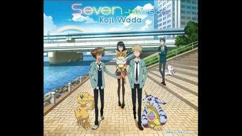 "Digimon Adventure Tri Ending 2 (sub. español)- ""Seven"" ~Tri. Version~ Koji Wada"