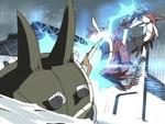 MegaSeadramon's Lightning Javelin AttackAnimation