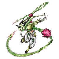 Aegiochusmon Green b