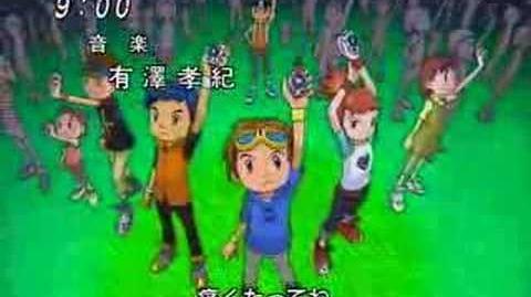 Digimon opening 1 (season 3)