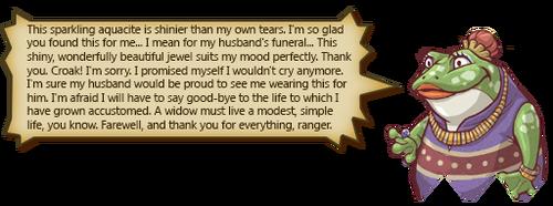Farewell Froggy! Text A