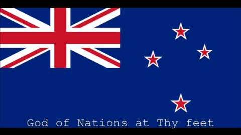 National Anthem of New Zealand Instrumental with lyrics