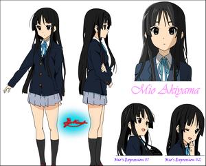 MioAkiyamaSketches(ByVince1AllColored)
