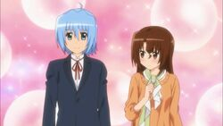Maria thoughts about Hayate