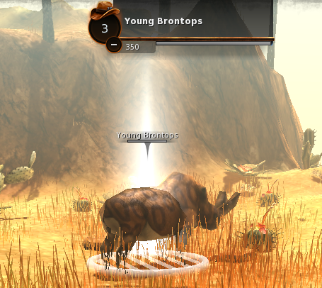 Level 1 young brontop