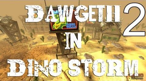 "Dino Storm - Episode 2 - ""Checking out Dinoville, and the Local Shops!"""