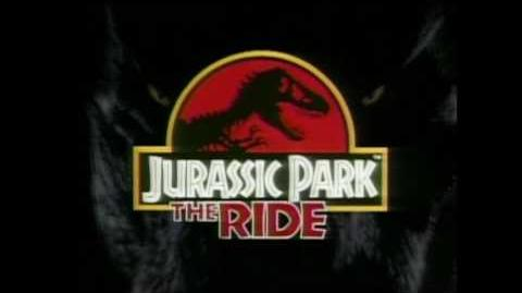 Vintage - Jurassic Park The Ride - Universal Studios Hollywood - TV Commercial (1996)