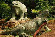 Iguanodon Crystal Palace