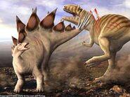 Allosaurus vs Stegosaurus