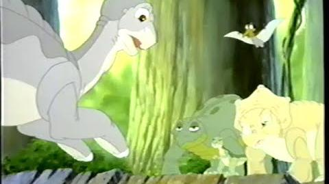 The Land Before Time V - The Mysterious Island (1997) Trailer (VHS Capture)