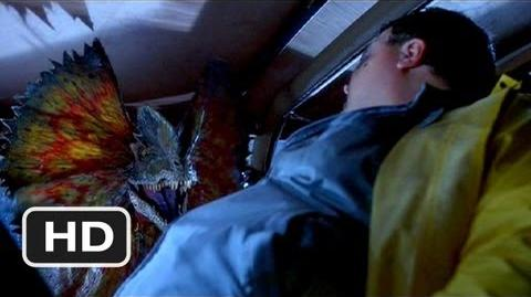 Jurassic Park (5 10) Movie CLIP - Nedry's Plan Goes Awry (1993) HD