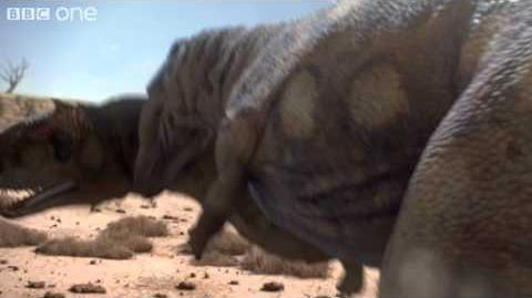 Dinosaur Cannibalism - Planet Dinosaur - Episode 3 - BBC One