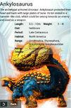 Album Super Rare Blitz Ankylosaurus