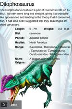 Album Rare Dilophosaurus