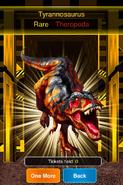Rare Tyrannosaurus
