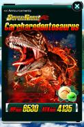 Super Rare Carcharodontosaurus