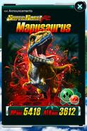 Super Rare Mapusaurus