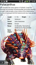 Rare + Polacanthus in List