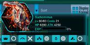 Suchomimus Info Icon