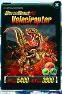 Super Rare Velociraptor