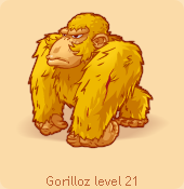 Gorilloz yellow