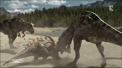 Yangchuansaurus attack