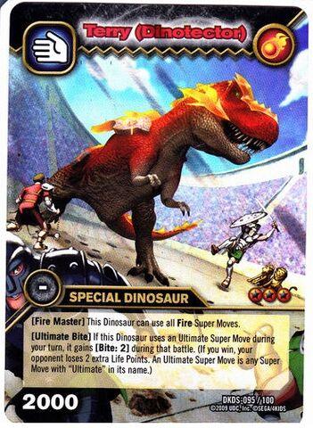 File:Tyrannosaurus - Terry DinoTector TCG Card 2-DKDS-Collosal (German).jpg