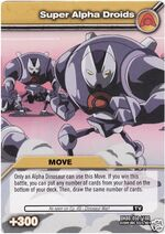 Super Alpha Droids TCG Card
