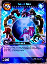 Aqua Egg TCG Card 1-Colossal