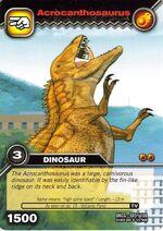 Acrocanthosaurus TCG card